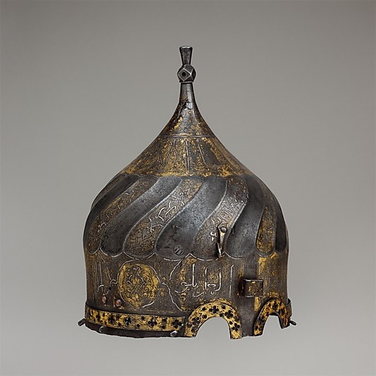 Turban Helmet. Date: late 15th century. Culture: Iranian