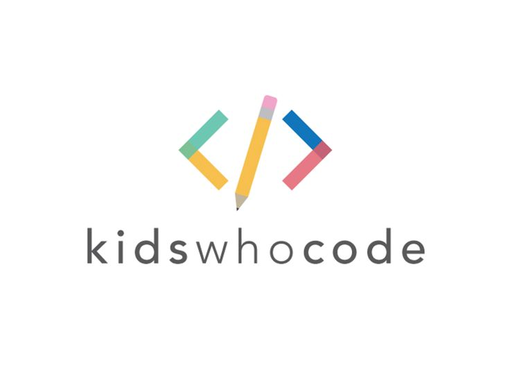 Kids Who Code Logo by Andrew Kersey