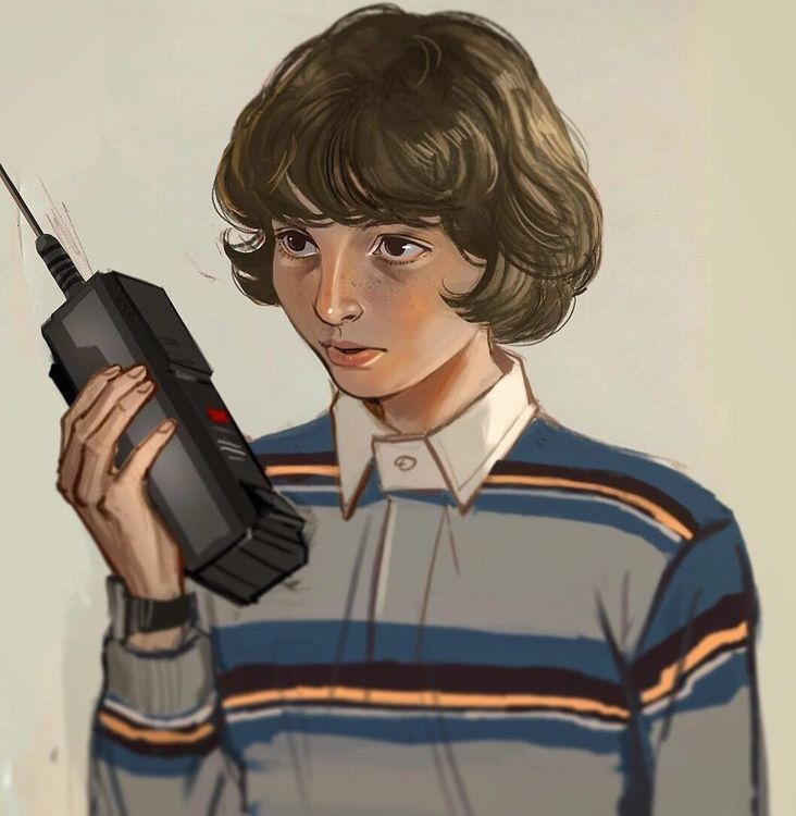 Pin De Ray Dawn Em Stranger Things Bonecos Stranger Things