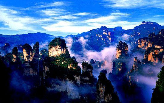 世界遺産・武陵源の絶景