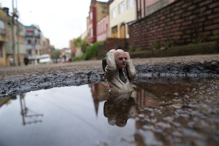 Isaac Cordal -Mini Ambients-