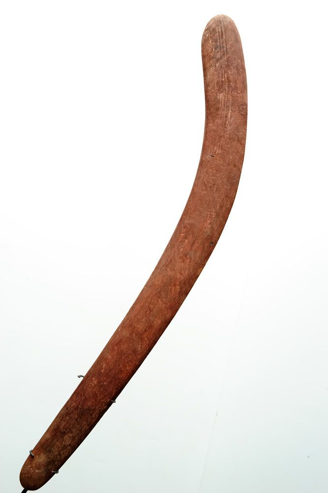 Excellent solid Incised Central Desert ABORIGINAL Boomerang