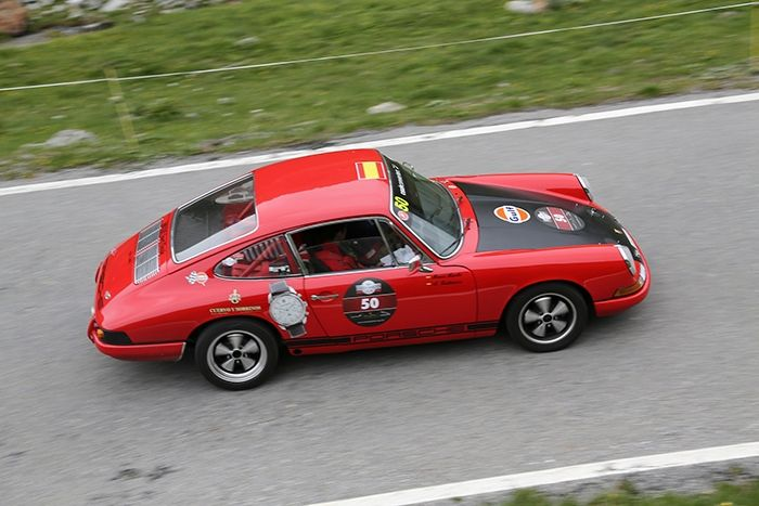The summer regularity event by Cuervo y Sobrinos, a wonderful rally for classic cars lovers. Austria, Stelvio Pass. CyS Cup 2013.