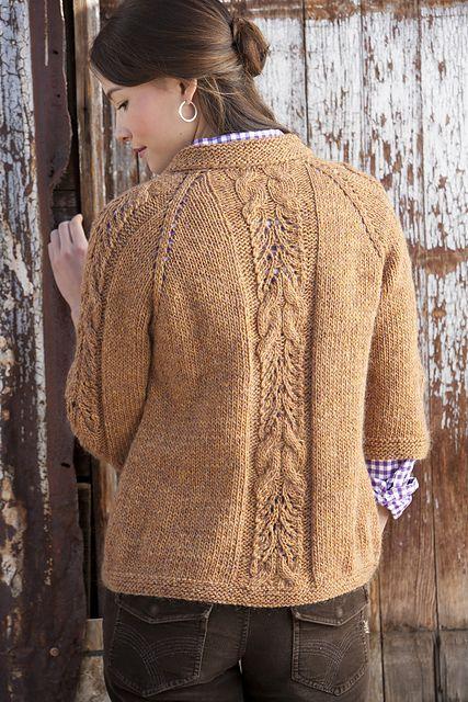 Ravelry: Market Jacket pattern, Tanis Gray, Interweave.