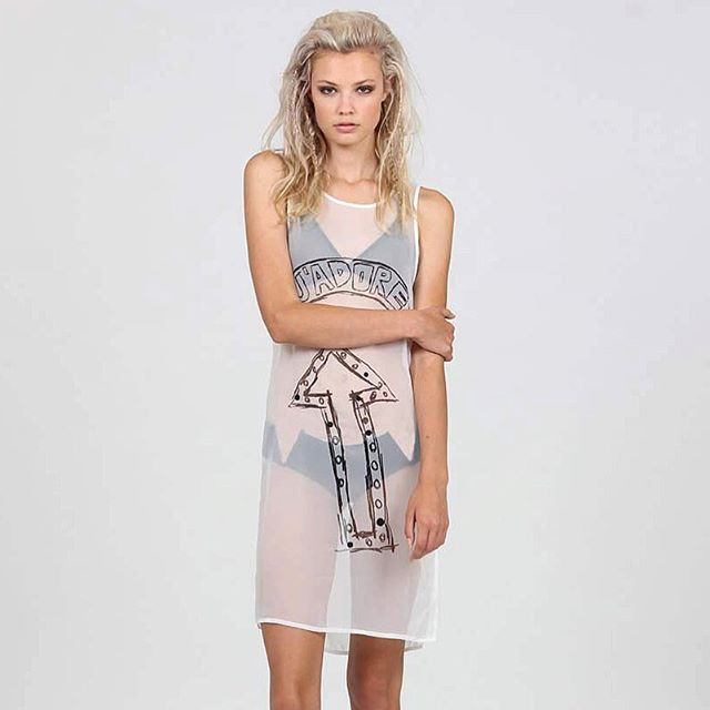 Mimi dress : j'adore vous .... +. #federationclothing #iloveyou #friday