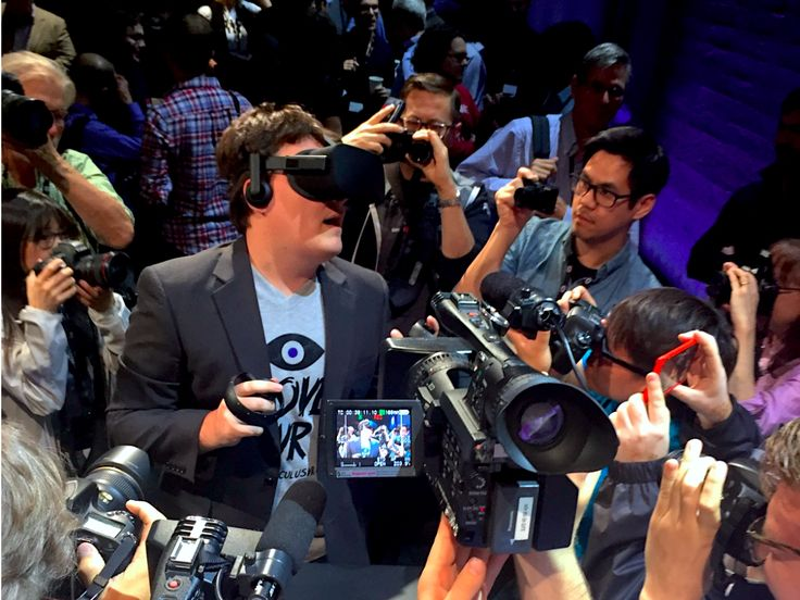 The controversial cofounder of Facebook's $2 billion bet on virtual reality is leaving the company (FB)