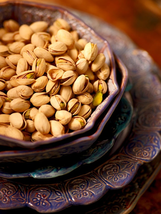 Goods from Middle East-pistachios