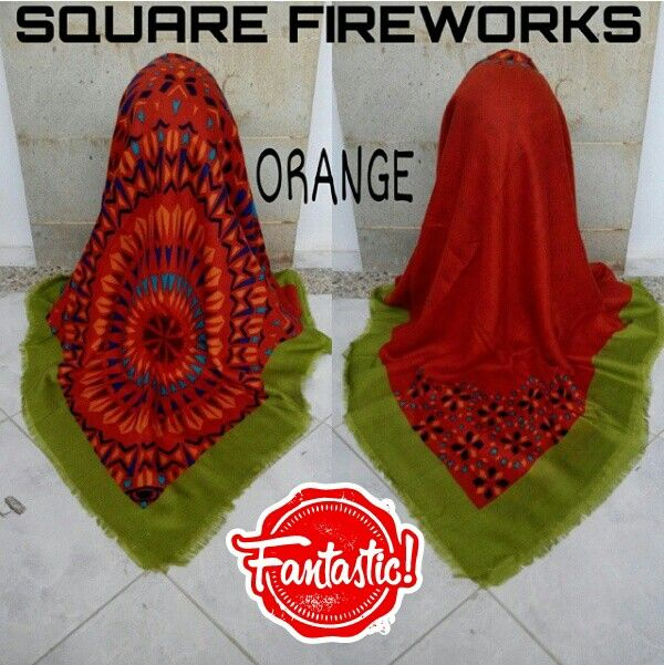 Square tyrex 2 in 1 (recommended!!!) 75.000 Bahan tyrex tepi rawis Uk 115*115cm
