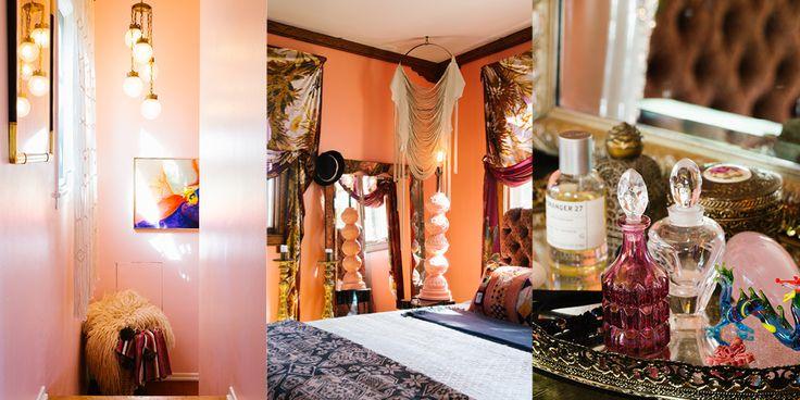 A Designer's Eclectic, Bohemian California House   Lonny.com