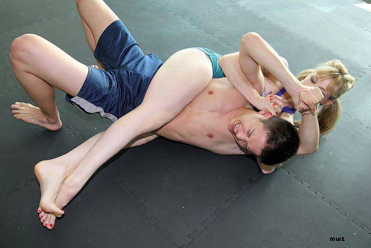 Mixed wrestling porn