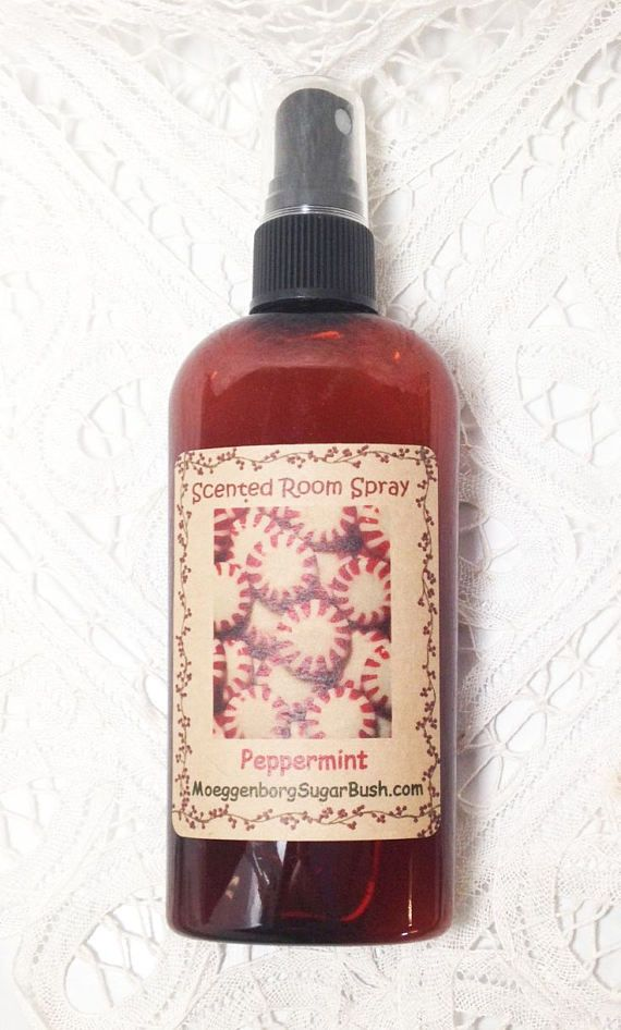Room Spray Peppermint energizing scent fresh minty scent