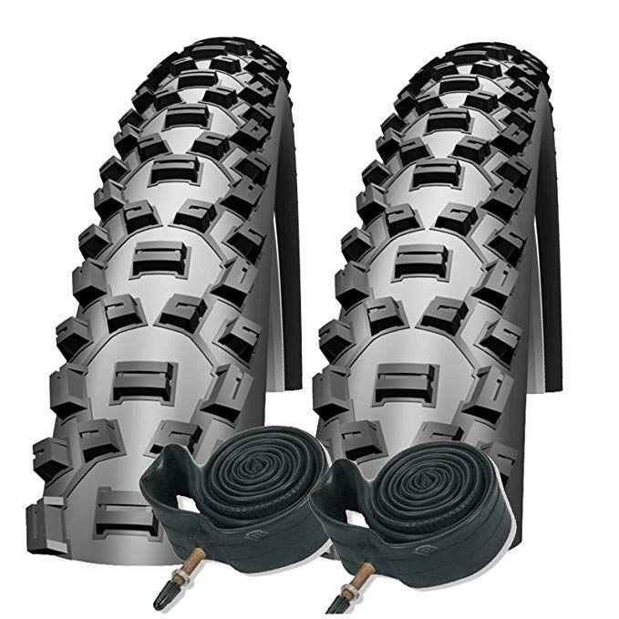 Schwalbe Nobby Nic 26x 2 1 Mountain Bike Tyres With Presta Tubes Pair Review Mountain Bike Tires Bike Tire Mountain Biking