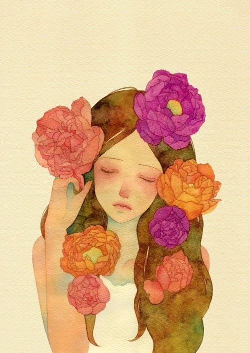 flower - 일러스트