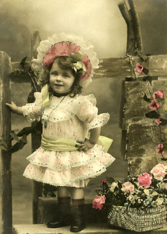 CD, Vintage and Victorian Children Images CD