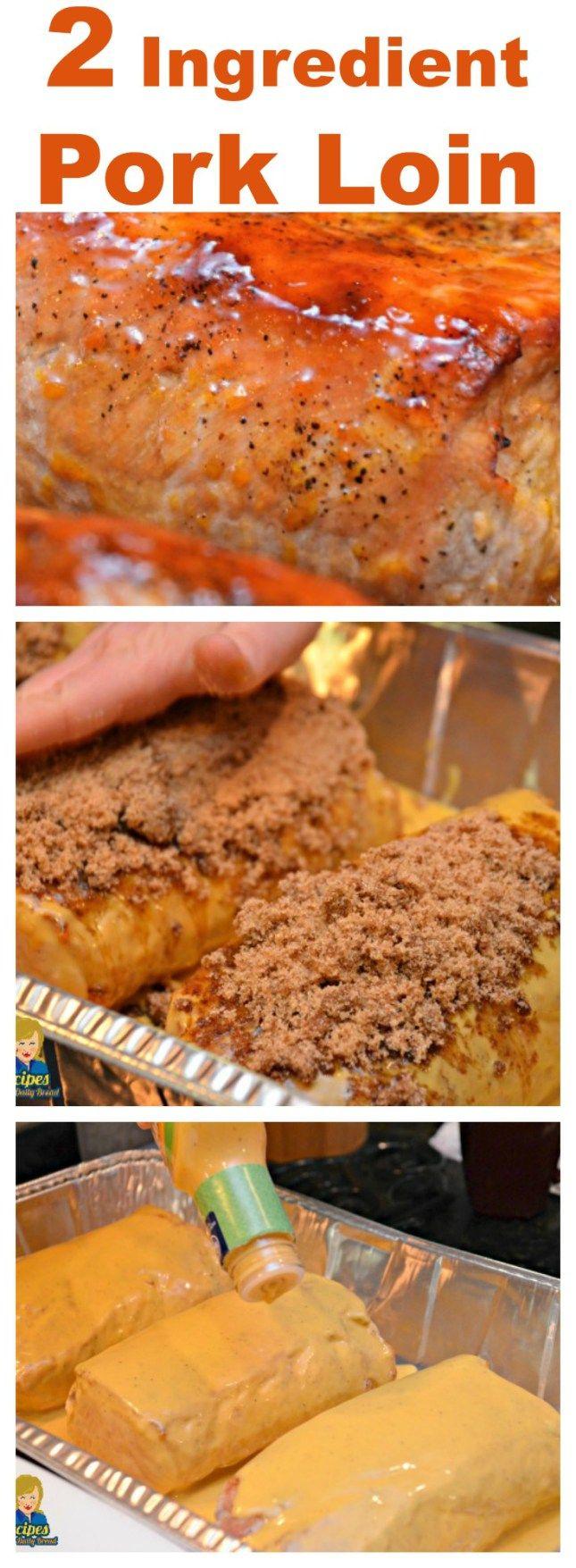 #Honey Mustard #Pork Lion - This 2 Ingredient Honey Mustard Pork Lion is…