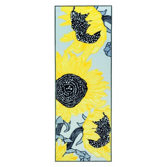 Auringonkukat-matto - Matot - Koti ja sisustus Hobby Hall