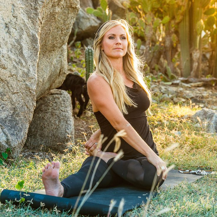 """Yoga is a way for me to look into myself, but also to reach out to the outside world. It allows me to connect with the community in a valuable way. Essentially, yoga is everything."" - Rachel Brathen (Yoga Girl)"