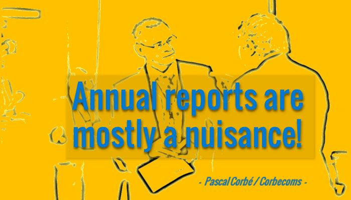 16 Points on How to Improve Annual Reports in Development Cooperation