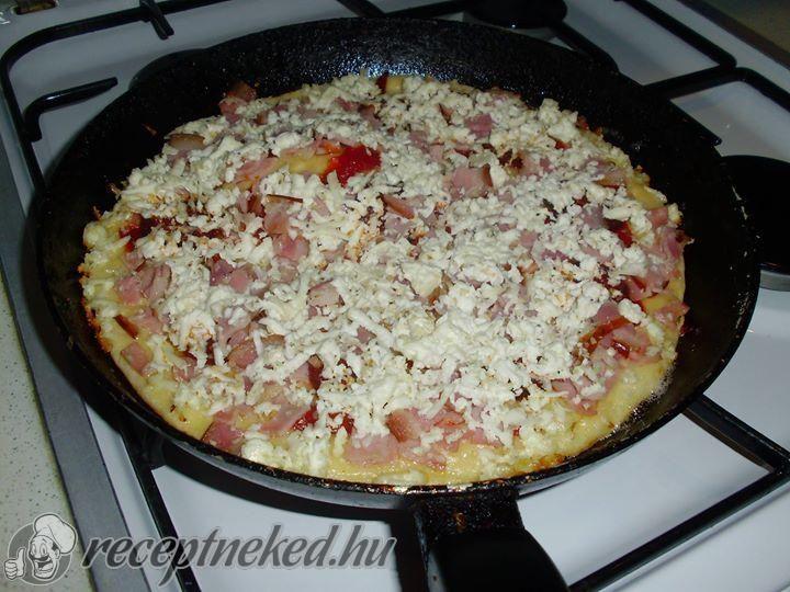 Serpenyős pizza | Receptneked.hu (olcso-receptek.hu)