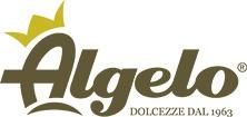 Logo realizzato per Algelo, azienda specializzata nella produzione di dolci e gelato artigianali.