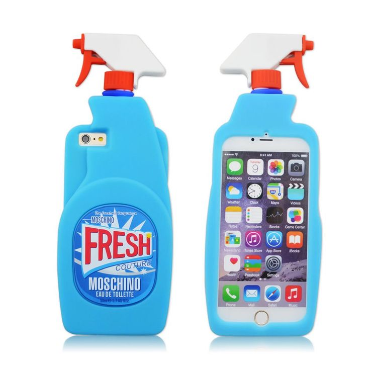 Fashion Silicone 3D Fruit Cover for Iphone 6 6s,3D Cool Shark,3D Sexy Lips Soft Gel Rubber Case for Apple Iphone 6 6S 4.7inches (Moschino 3D Fresh Couture Spray Bottle). Cool special color and design cartoon makes your phone in fashion. Soft Silicone Rubb