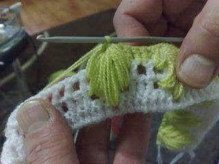 Örgü Bebek Battaniyesi Yapımı   Hobilendik