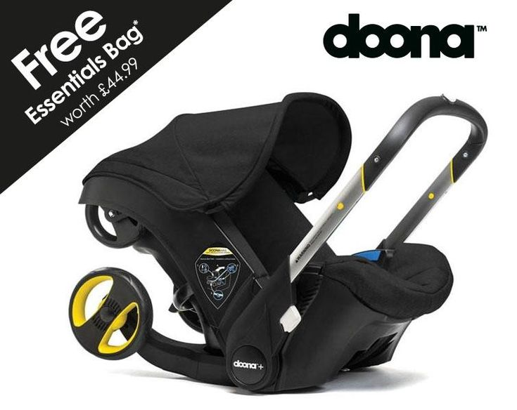 Doona Infant Car Seat - Night + Free Essentials Bag worth ...