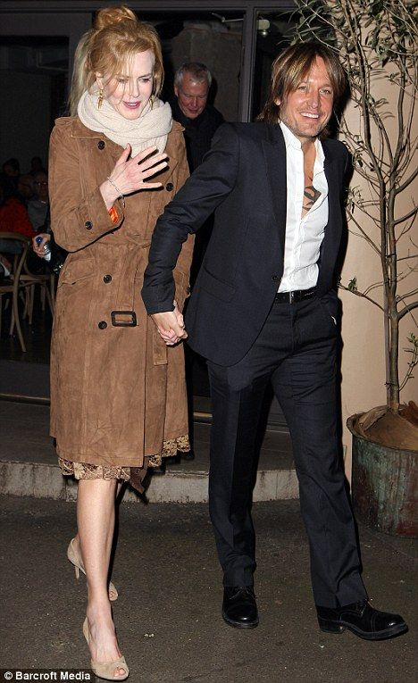 Keith Urban treats wife Nicole Kidman to Greek dinner as they mark her 45th Birthday in Sydney