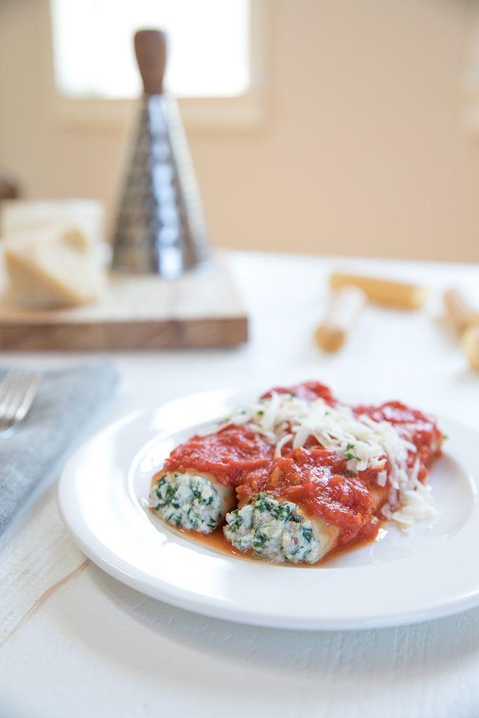 Gluten Free Turkey and Spinach Manicotti | Jovial Foods, Inc.