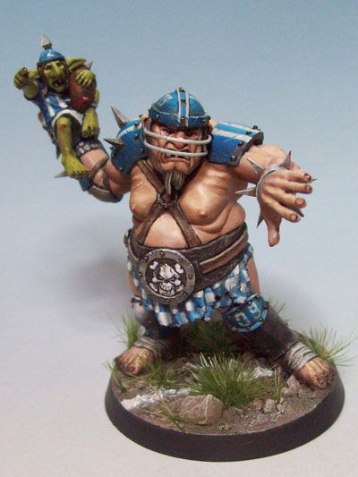 Roze El's Hall of Fame: Blood Bowl Ogre by Olivier Bredy