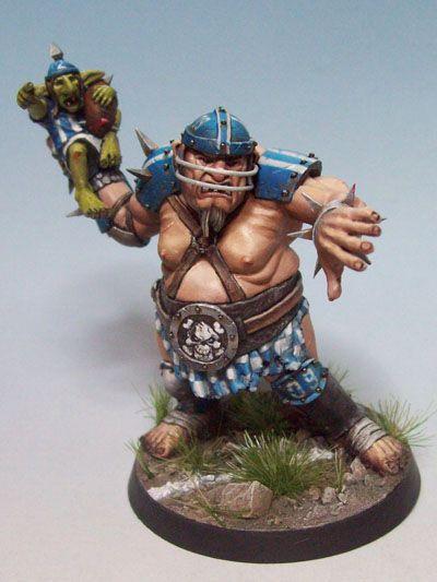 Roze El's Hall of Fame: Blood Bowl Ogre by Olivier Bredy