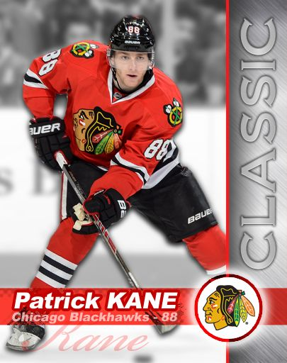 You can collect KANE CARDS in Patrick Kane's Hockey Classic, here's #3 - KANE HAT-TRICK