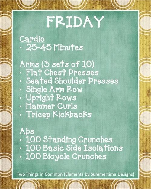 Friday Workout! ♥✤ | Keep the Fitness | BeStayBeautiful