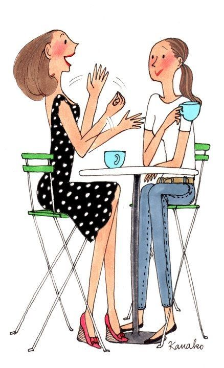 """Compartir una taza de café con un amig@,""""  sabe a felicidad y tiempo bien gastado!! <3"""