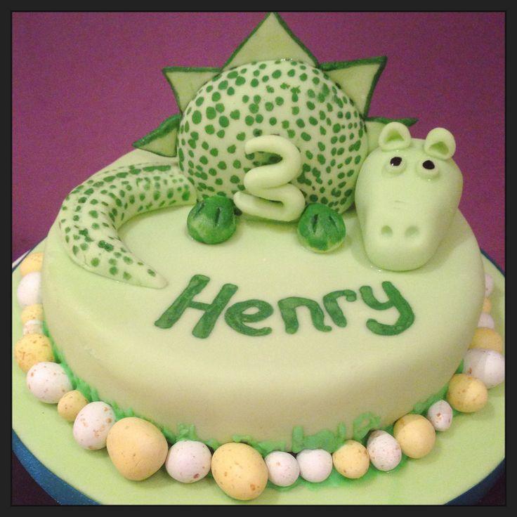 ... birthday on Pinterest  Dinosaur cupcake cake, Birthday cakes and