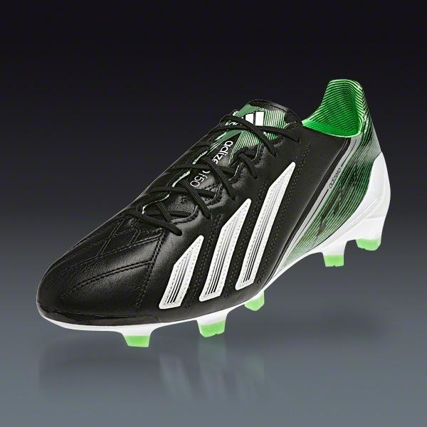 adidas Mens F50 Adizero Firm Ground Football Boots Football Store Shop Football Store COLOUR-white/green