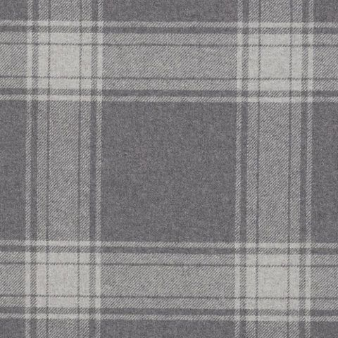 Doublebrook Plaid - Grey Flannel - Plaids - Fabric - Products - Ralph Lauren Home - RalphLaurenHome.com