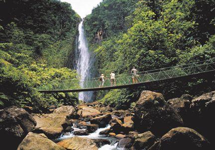 Guadeloupe - beautiful mtns