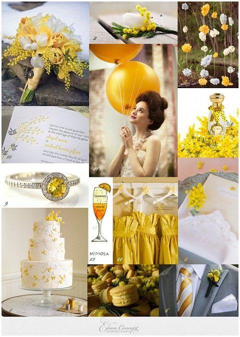 「イエロー・黄色」を結婚式のテーマカラーに!ウェディングアイデア | 結婚式準備ブログ | オリジナルウェディングをプロデュース Brideal ブライディール