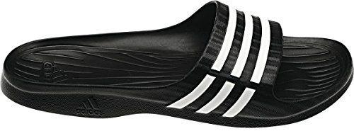 Adidas Badeschuhe Duramo Sleek W. Damen. Komfortables, weiches Fußbett. Black. Gr. 40.5 - http://on-line-kaufen.de/adidas/40-5-eu-adidas-badeschuhe-duramo-sleek-w-damen