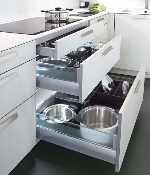 Modern, Simple, Clean Kitchen Ideas