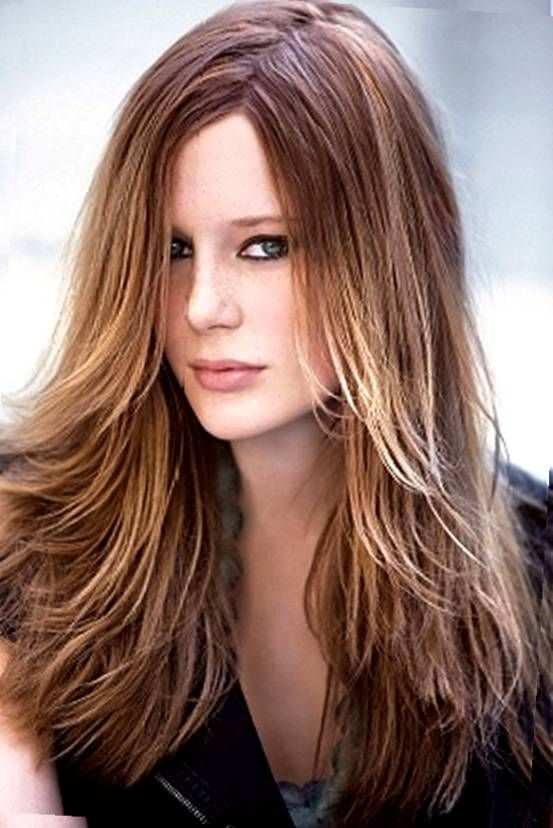 different ways to style a long layered wavy hairstyle - Google Search
