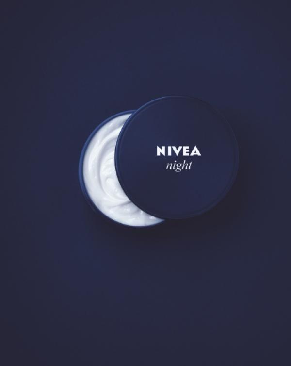 Nivea Night Care Cream Product Range: NIGHT Print Ad #advertising