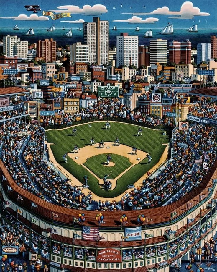 I'd rather be at Wrigley