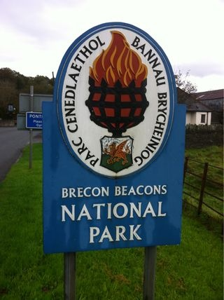 Where do many adventure activities take place in Wales - The Brecon Beacons National Park