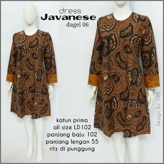 Baju Batik Kerja Wanita, Grosir Batik Solo, Baju Batik Pria: Dress batik pesta, agen dress murah, Dress murah