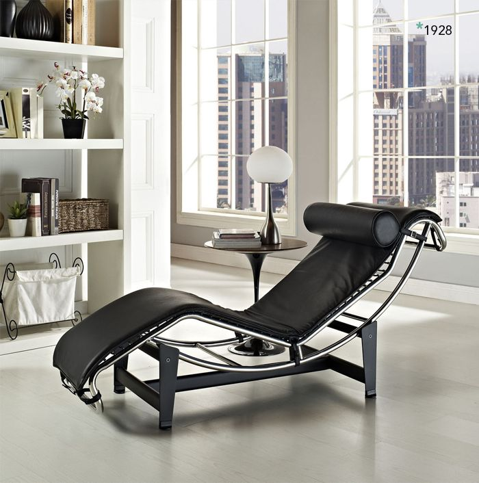 Chaise Lounge LC4 by Le Corbusier. Since 1928. http://sincetheblog.com/2014/09/25/chaise-lounge-lc4/