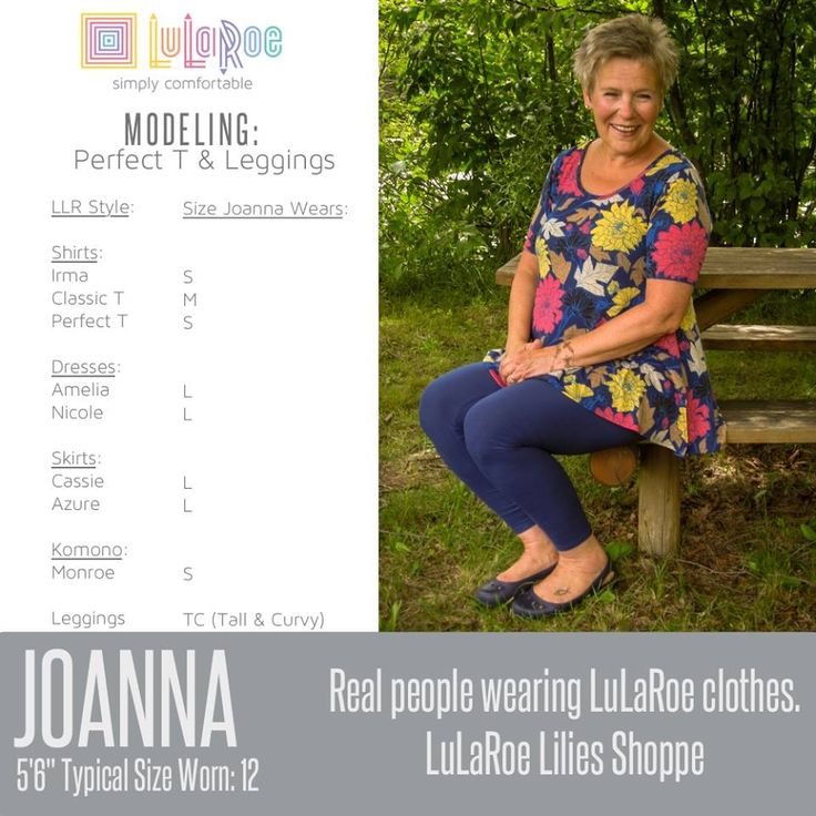 Not sure what size LuLaRoe clothing you wear? Check out ...