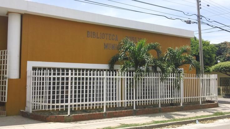 Biblioteca Pública Municipal José Ignacio Rangel. Los Patios - Norte de Santander. Colombia.