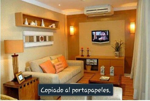 Pin by erika cardenas on salas pinterest - Decoracion de interiores modernos ...